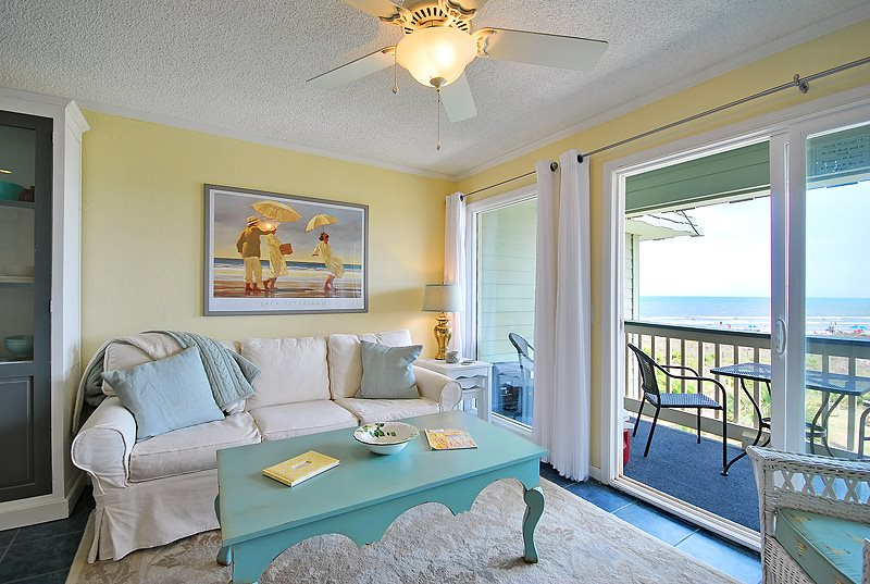Bon 304A Sea Cabin, Isle Of Palms, Beautifully Updated, Third Floor, Oceanfront  Views, Neighborhood Pool, Private Pier Access