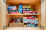 Cabinet full of games and puzzles for great family fun