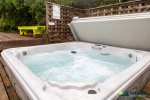 Relax and unwind in the hot tub.