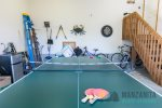 Ping pong table, dart board, and bikes available for guest use not on the beach.