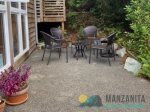 The grill with propane is provided for the guests.