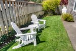 A couple lawn chairs to use as well.