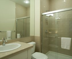 Master Ensuite Bath with Soaker Tub and Separate Shower