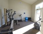 The club house is open year round and has a great fitness centre