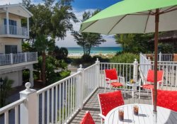 Unit 04 Bermuda Bay Townhome with gorgeous view of balcony