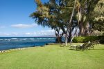Expansive lawn and view of Kohala Mountains