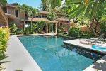 Lovely private courtyard pool - large enough for swimming