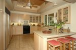Kitchen with Ocean and Sunset View - very well equipped