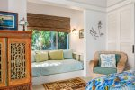 Relax and Rejuvenate on the cool lanai of the Guest Suite of Aina Malia at Wailea Bay
