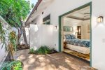 This lovely Guest bedroom on the oceanfront property of Aina Malia