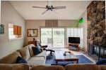 Ceiling fan for your comfort in the living room
