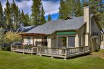 Located on the 17th Fairway of Plumas Pines Golf Resort