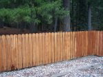 Fenced yard for your puppy