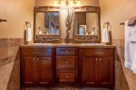 Double master bathroom vanity