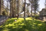 Lovely fenced yard in Plumas Pines