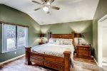 Delightful master bedroom retreat