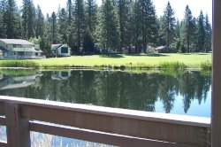 #56 PONDEROSA On the Pond!  $125.00-$160.00 BASED ON DATES  AND NUMBER OF NIGHTS (plus county tax, SDI, Cleaning Fee and processing fee