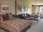 Tamarron Vacation Rentals 511 - Loft Unit with 1 Queen bed down and 1 Queen up - Durango, Colorado