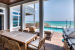 Seagrove Beach - Private pool and outside seating with grill.