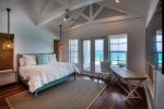 Seagrove Beach - Master suite with private patio and gulf view.