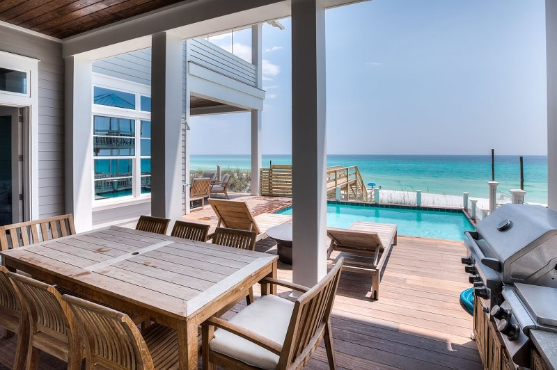 30a Seagrove Beach Luxury Gulf Front Home With Private Pool
