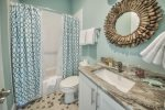 Seagrove Beach - single vanity with shower/tub combo
