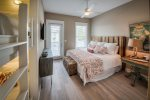 Seagrove Beach - Master suite with built in twin bunk bed