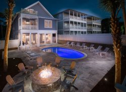 'Sea Power' Large 30A Seagrove Beach Vacation Rental House Private Pool + Fire Pit + FREE BIKES!