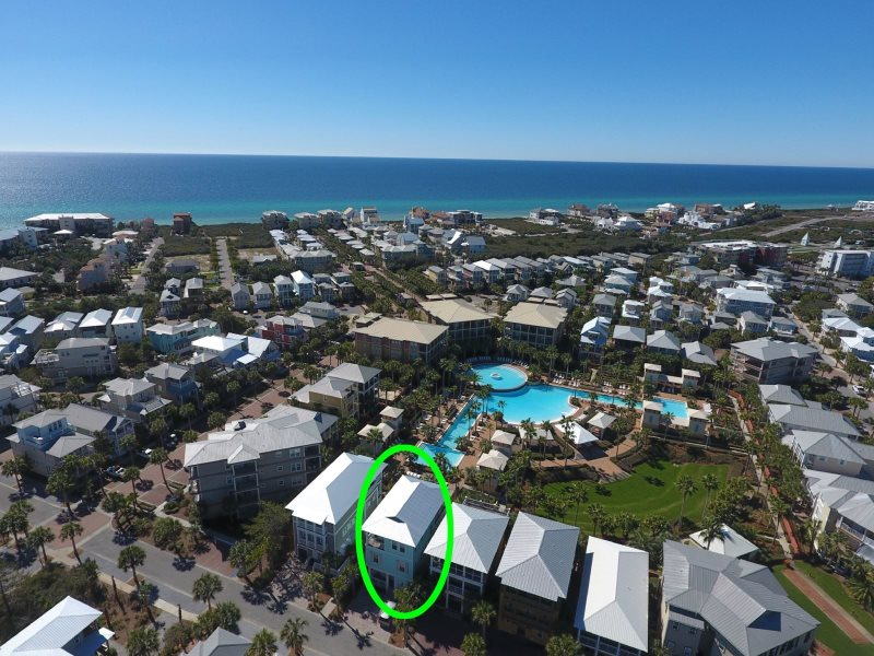 Large 30a Seacrest Beach Vacation Home With Lagoon Pool In Back Aqua Waters Free Bikes