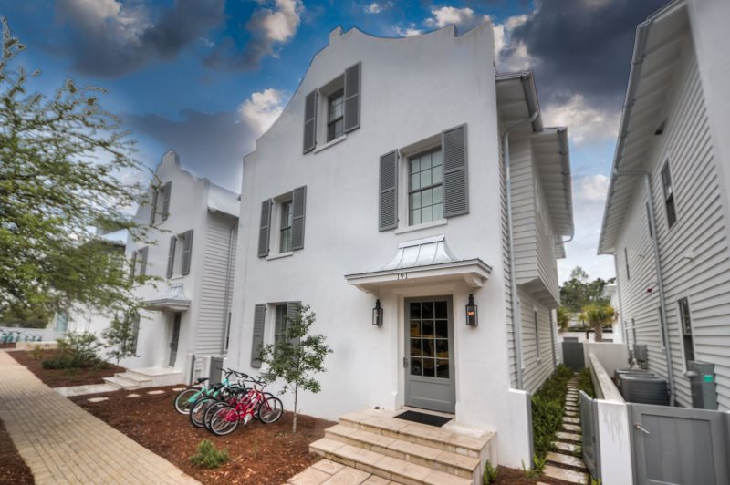 Rosemary Beach Pool Area With Lounge Seating And Dining E