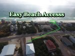 Easy beach access