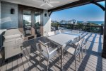 Top Floor Party Deck with loungers and access to Game Room with Bar