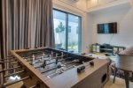 1st Floor Game Room - Foosball Table & Large Flat Screen TV