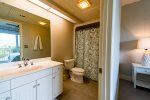 2nd Master En Suite - Equipped with a Tub-Shower Combo