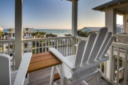 Chelsea Loop South Side 30A Seagrove Beach Vacation Rental House with GULF VIEWS!