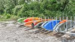 Kayak Rentals at Camp Helen State Park in Inlet Beach
