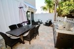 Outdoor Patio - Equipped with a Gas Grilling Station & Room to Dine & Lounge