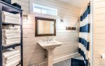 ADDITIONAL OPTION - Full Size Bathroom Equipped with Washer & Dryer