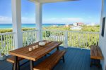 Enjoy gorgeous gulf views on the 2nd floor deck