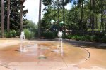 Splash Pad for the Children to play on.