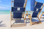 WaterColor Beach Chairs for your enjoyment on the sugar white sands of 30A