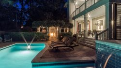 'Casa Sombra Cottage' Grayton Beach Rental with PRIVATE POOL and 2 Outdoor Fireplaces!