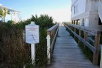 Shot walk to the beach access