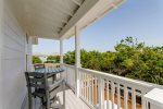 Carriage House offers great views of the pool area right from your door