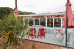 Grab some lunch at the famous Cowgirl Kitchen not too far from the condo.
