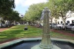 Beautiful Fountains and Greenery in Rosemary Beach