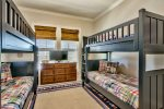 Bunk room offers two Twin over Twin bunks