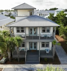 'Ocean Pearl' Seacrest Beach Luxury 5 bedroom main house plus carriage house + FREE BIKES + 2 bunk areas
