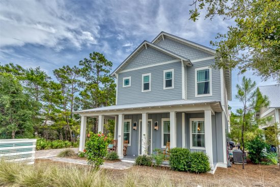 Do Grayt Things Gorgeous Home In The Heart Of Grayton Beach Community With Free