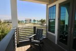 2nd Floor Master Suite Private Balcony - Unobstructed Gulf Views